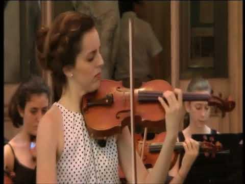 Beethoven Op. 61 1er mvt - María Manchón & Orchestre du CNR Marseille