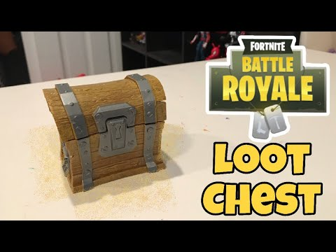 Fortnite Loot Chest Unboxing And Review Jazwares Toys