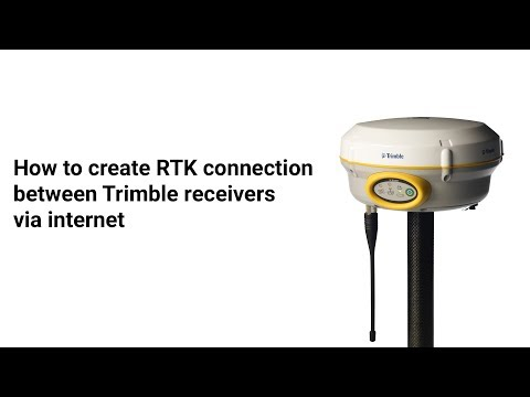 How to create RTK connection  between Trimble receivers via internet thumbnail