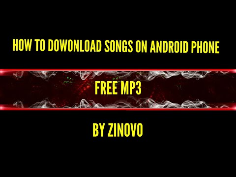 How To Download Songs on Android Phone for free (mp3)