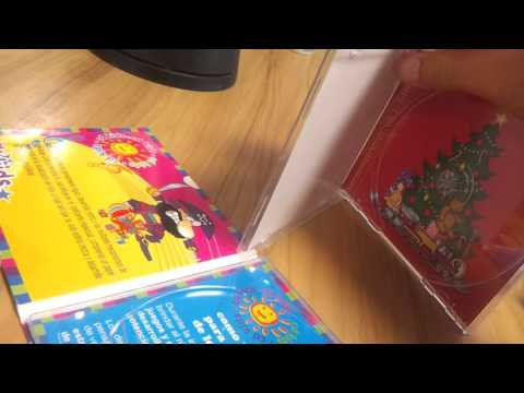 Children's CD replication/duplication with jewel case and digipak