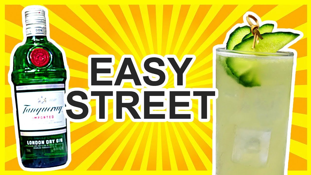 easy street gin cocktail recipe youtube