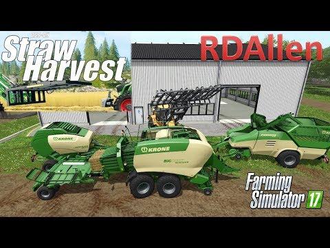 Straw Addon DLC for Farming Simulator 17 - DLC Review