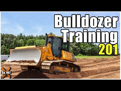 How To Operate A Bulldozer - Advanced // Heavy Equipment Operator Training
