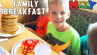 Giant Family Breakfast Gathering    Mommy Monday