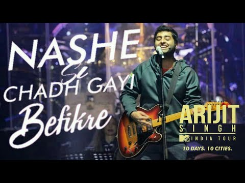 Nashe si chadh gayi Live | ARIJIT SINGH LIVE at Chandigarh EXHIBITION GROUND sector 34