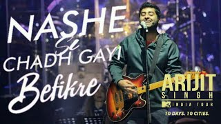 Gambar cover Nashe si chadh gayi Live   ARIJIT SINGH LIVE at Chandigarh EXHIBITION GROUND sector 34