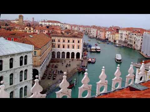 Венеция весной. Роскошные виды с высоты птичьего полета