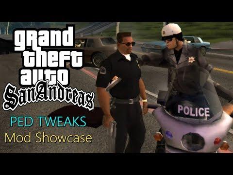 GTA San Andreas: PED TWEAKS (Mod Showcase)
