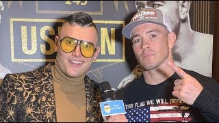 """Colby Covington: """"I've Heard Second Hand from Usman's Training Partners He's on EPO, Took Steroids"""""""