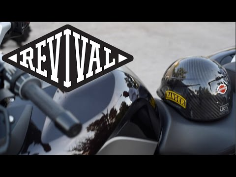 Revival Cycles custom BMW controls