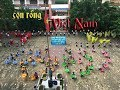 con rồng Việt Nam | đồng diễn trường TH Ngô Quyền