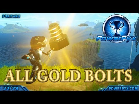 Ratchet & Clank 2016 - All Gold Bolt Locations (Ultimate Explorer Trophy Guide)