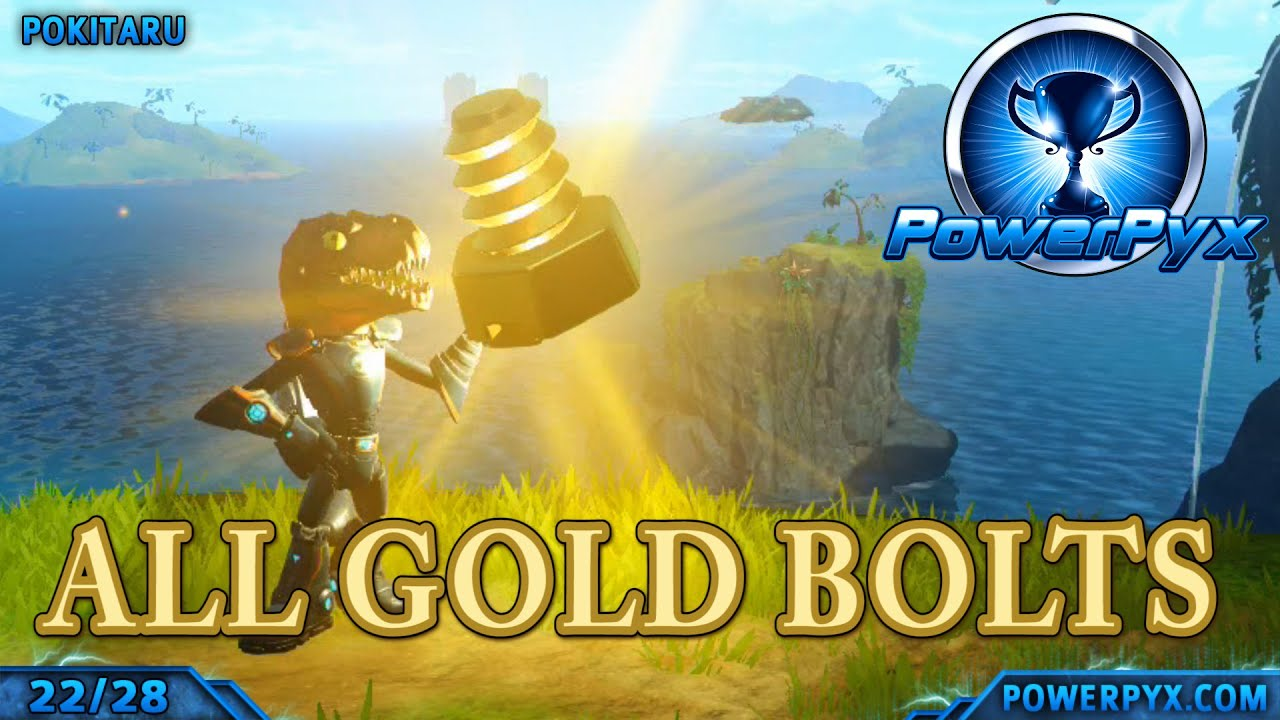 Ratchet Clank 2016 All Gold Bolt Locations Ultimate Explorer