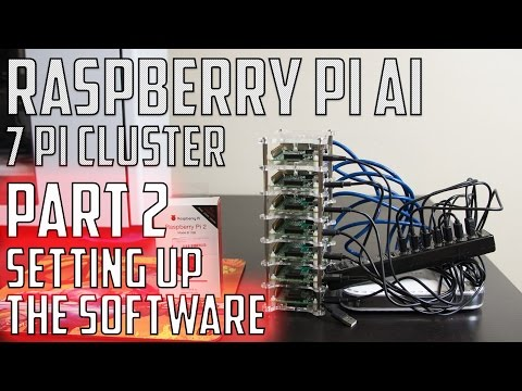Raspberry Pi Cluster Super Computer AI - Part 2 -  Setting Up The Software