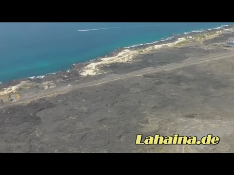 Flugzeugstart am Flughafen von Kailua-Kona (KOA), Big Island / Hawaii