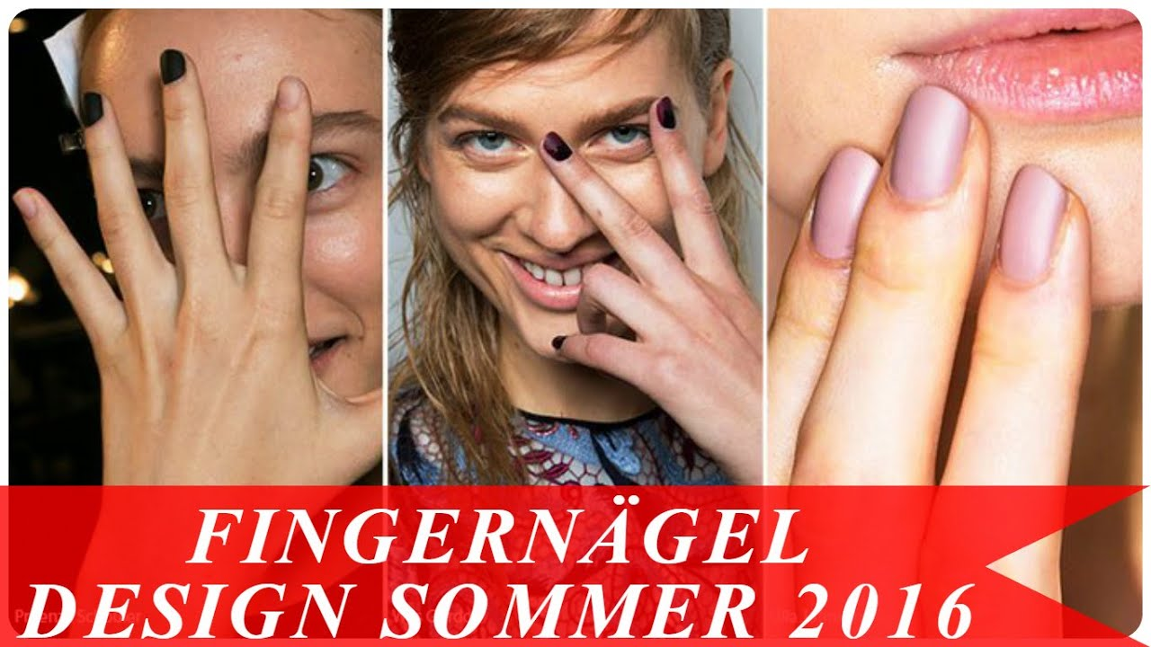 fingern gel design sommer 2016 youtube