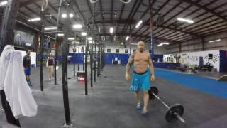 Christopher Bourke, 2016 Granite Games, Masters 40-44, Qualifier WOD #4, 8:20