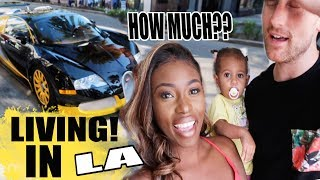 IS THIS WHAT LIVING IN LA IS LIKE? A NEW 2 MILLION DOLLAR CAR? - VLOG AD thumbnail