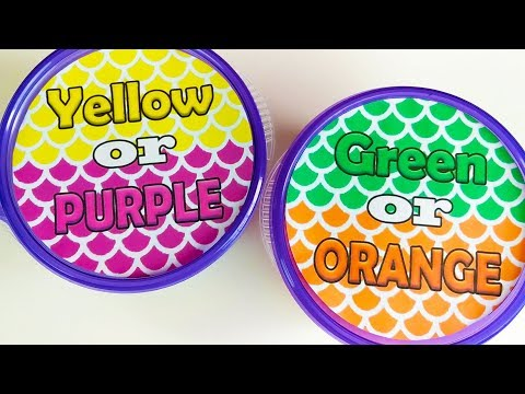 Guess The Color Slime Edition ! Satisfying Slime ASMR Video Compilation ! #6