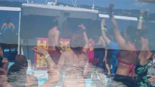 HARD DANCE IBIZA 2010 - BOAT PARTY
