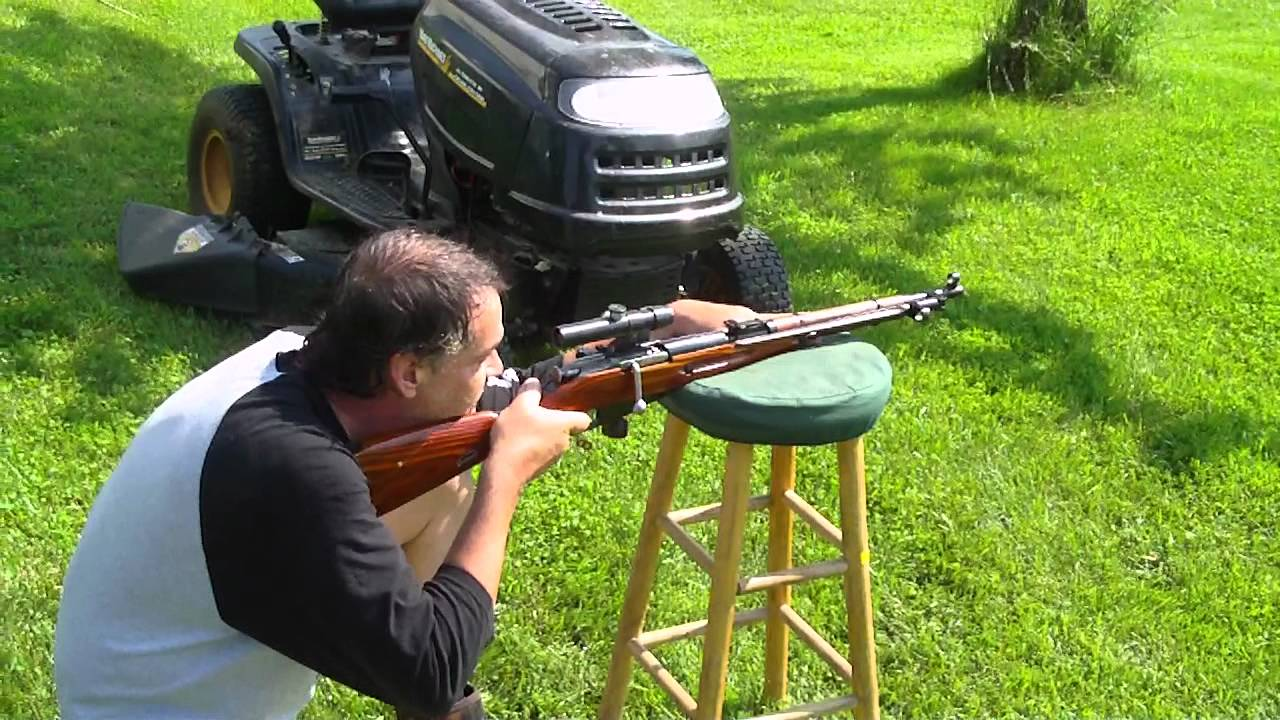 M44 Sniper Rifle Shooting In My Boxers