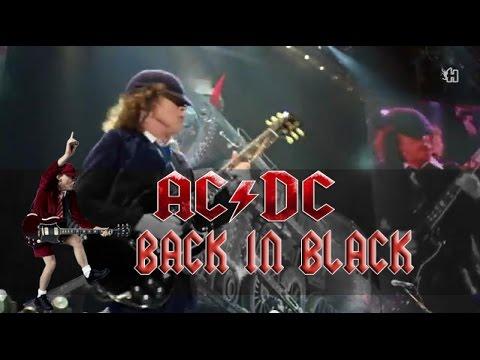 AC/DC - Back in Black (lyrics - sub español) HD