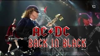ac dc back in black lyrics sub espaol hd