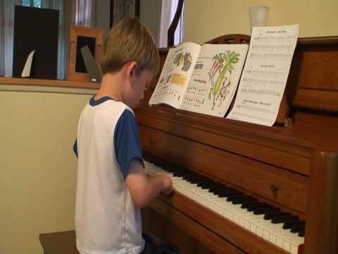 Luke - Piano - The Celebrated Chop Waltz aka Chopsticks by Euphemia Allen (1877) - June 2009