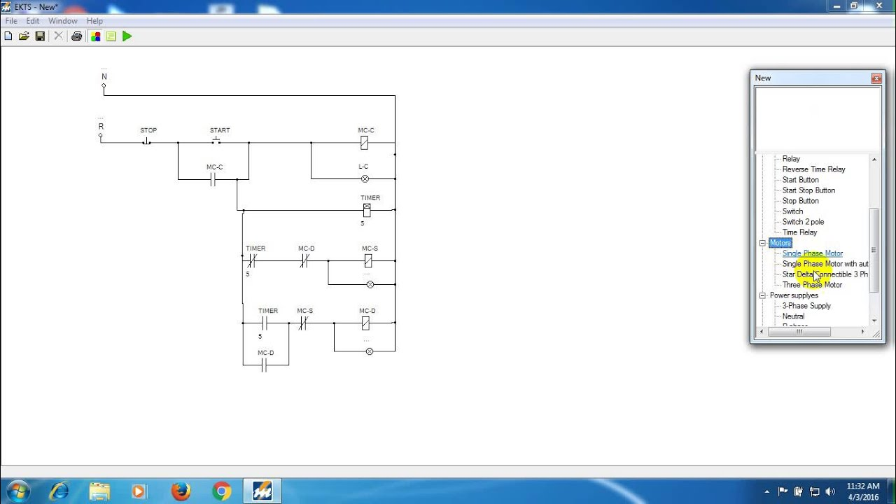 Star Delta Control Wiring Diagram With Timer 2007 Ford Focus Car Stereo Three Phase Motor Connection Impremedia