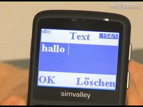 simvalley MOBILE Seniorenhandy Bedienungsanleitung - Teil 5: SMS-NACHRICHTEN