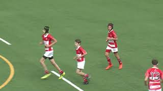 Boys U14 - Island Lions vs Peninsula Dragons - Prudential New Year's Day Youth Rugby Tournament 2019