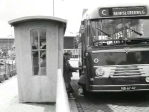 1960: Aanleg IJtunnel, met o.a. Weesperstraat voor verbreding, Amsterdam-Noord - oude filmbeelden