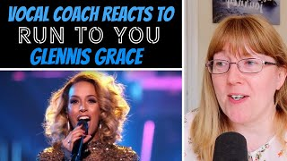 Vocal Coach Reacts to Glennis Grace