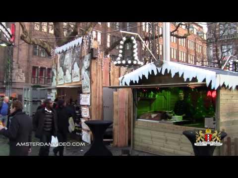 Christmas Market Amsterdam Rembrandtplein (12.3.11 - Day 520)