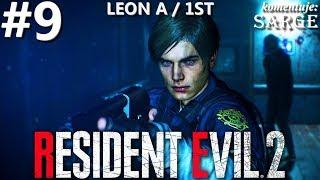 Zagrajmy w Resident Evil 2 Remake PL | Leon A | odc. 9 - Wieża zegarowa | Hardcore