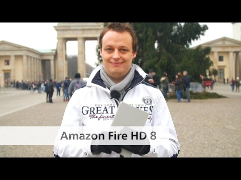 Amazon Fire HD 8 - Günstiges Multimedia-Tablet im Test [Deutsch]