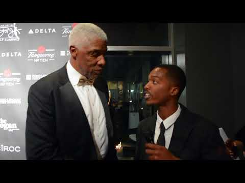 "Julius ""Dr. J"" Erving  & Marcus Allen interview  