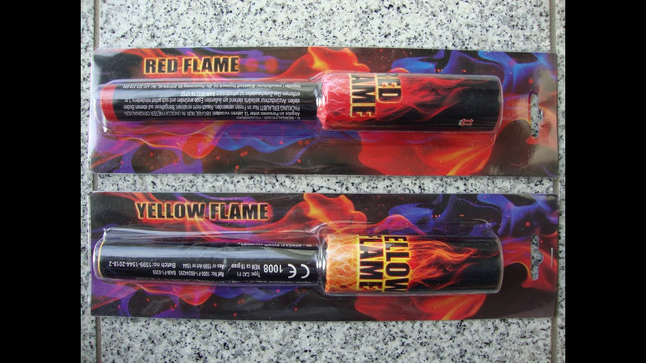 Red Flame & Yellow Flame