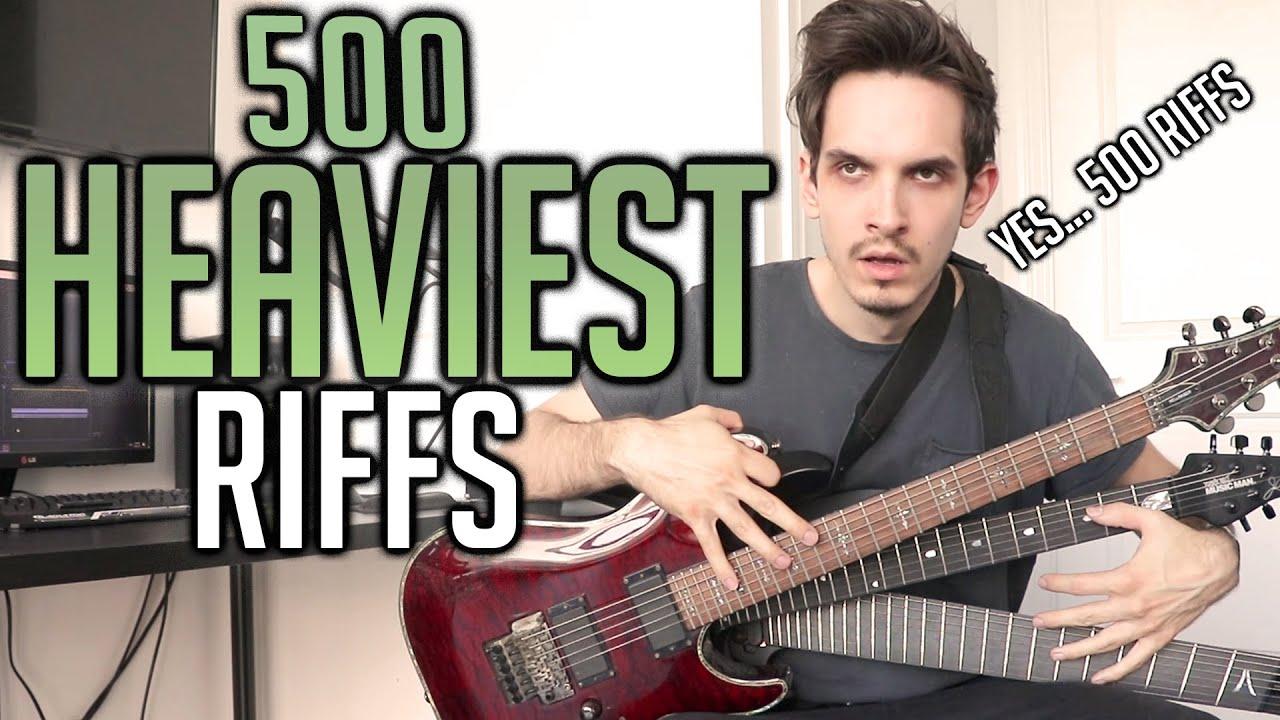 500 Heaviest Riffs