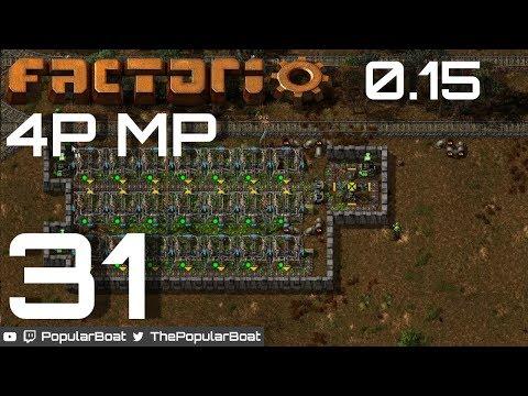 Factorio 0.15 - 4P MP - Part 31 - First Uranium mines