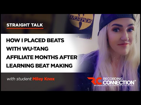 How I Placed Beats with Wu-Tang Affiliate Months After Learning Beat Making