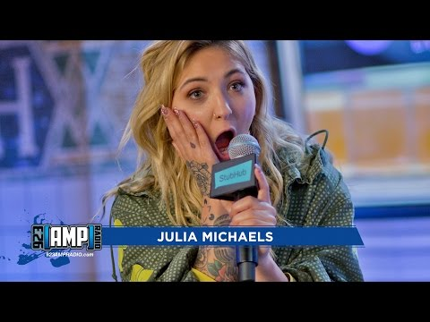 Julia Michaels Shows Off Her Tattoos