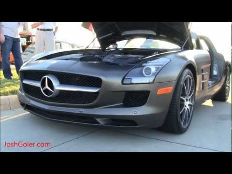 SLS AMG Mercedes: Driving - Magno Monza Grey with Matte Finish