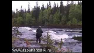 РЫБАЛКА по КАРЕЛЬСКИ, ловля форели и окуня на реке ч.3 Fishing ultralight spinning.