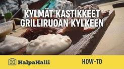 Kylmät kastikkeet grilliruoan kylkeen • HalpaHallin reseptivinkki