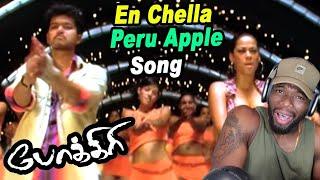 Download En Chella Peru Apple - Video Song | Pokkiri | Vijay | Mumaith Khan | Mani Sharma | (REACTION)