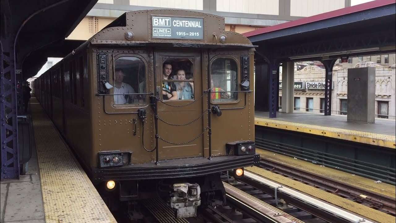 NYC Subway HD 60 FPS D Type Triplex Arrives Brighton Beach For 1st Public