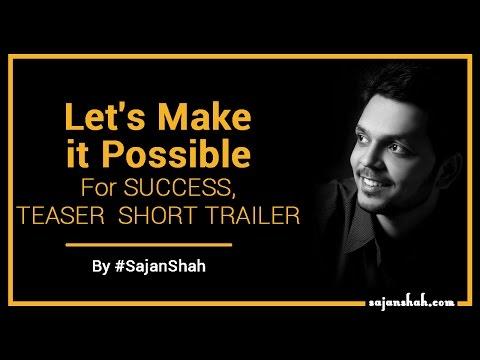 Lets Make it POSSIBLE - Motivational Video in HINDI For SUCCESS - TEASER - SHORT TRAILER