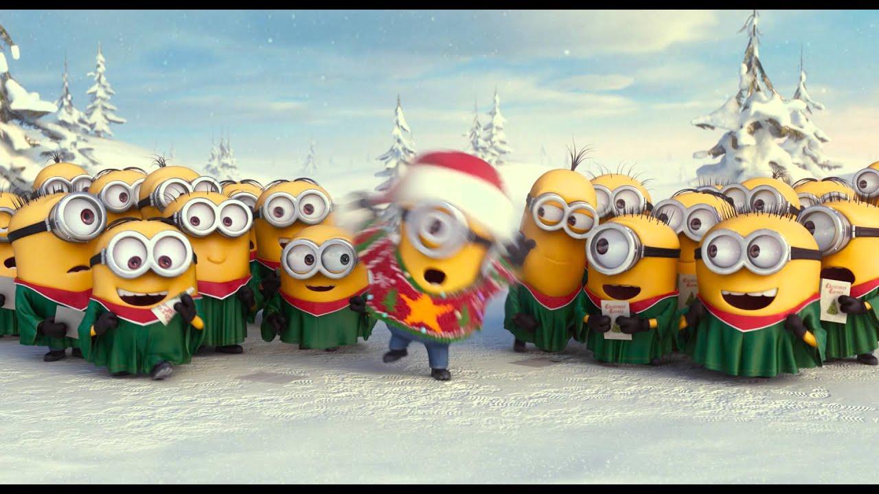 Les minions joyeux no l youtube - Les minions noel ...